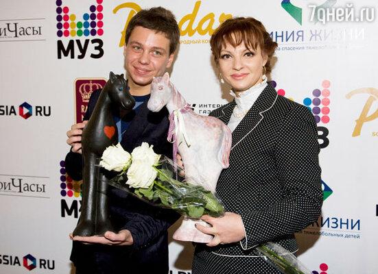 Артем Потемкин и Наталья Толстая