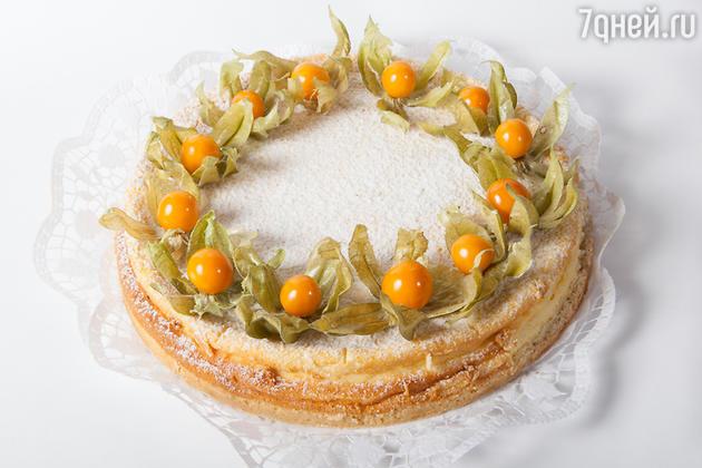 Пирог с физалисом