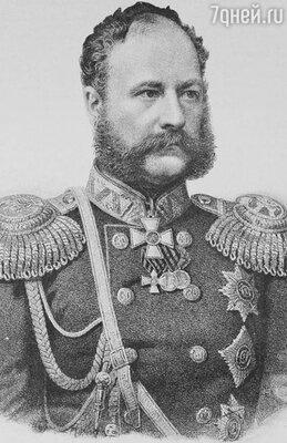 После отставки Ермолова командующим войсками Кавказского корпуса был назначен князь Барятинский (на фото). В 1859 году он сломил сопротивление Шамиля и взял его в плен