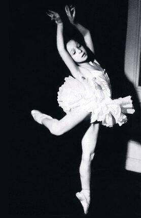 Вскоре после поступления  в балетную школу при Большом театре