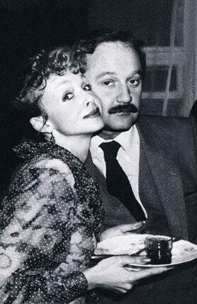 С мужем Виктором Лебедевым