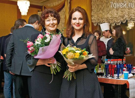 Ольга Будина с мамой Лидией Игнатьевной