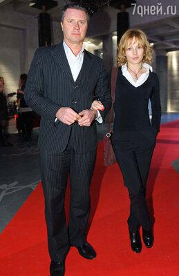 Алена Бабенко с супругом Эдуардом Субочем