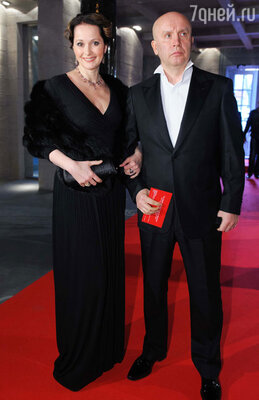 Ольга Кабо с супругом Николаем Разгуляевым