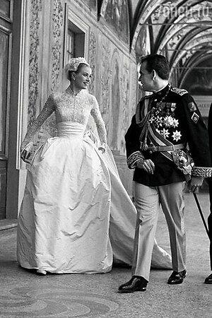 Грейс Келли и принц Монако Ранье III