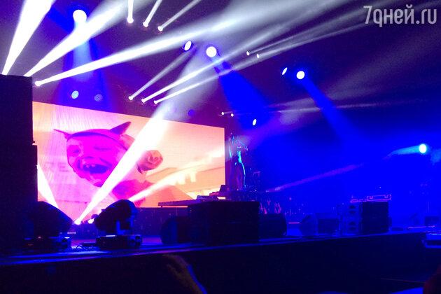 Выступление группы Die Antwoord