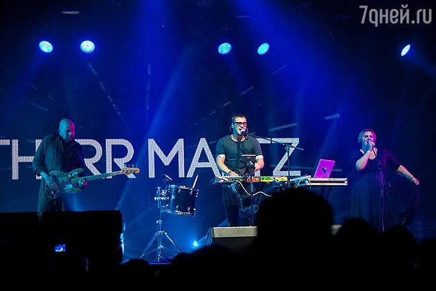 Выступление группы Therr Maitz