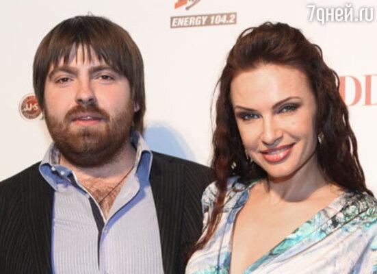 Эвелина Бледанс с мужем Александром Сёминым