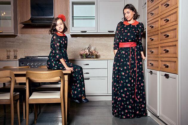 Ольга Филиппова с дочерью