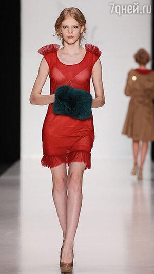 ������ ������ Maria Golubeva � ������ Mercedes-Benz Fashion Week