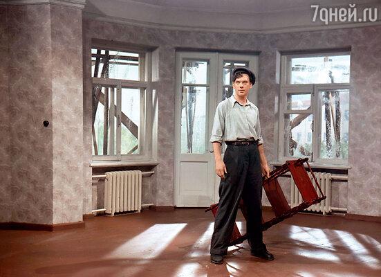 Кадр из фильма «Большая семья». 1954 г.