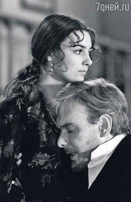 Со Светланой Тома в фильме «Живой труп». 1968 г.