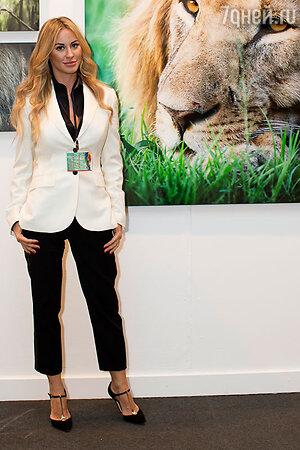 Ольга Мичи не боится ни львов, ни крокодилов. Ее фотоработы
