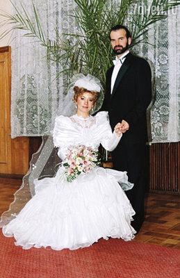 Это свадебное платье мне выбрала сестра. Мой жених Саша ей очень понравился