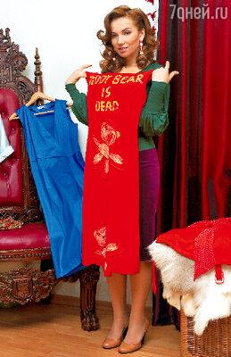 Платье с аппликациями в виде медвежат — волшебное. Стоит Анфисе его надеть, как она обязательно познакомится с каким-нибудь кавалером