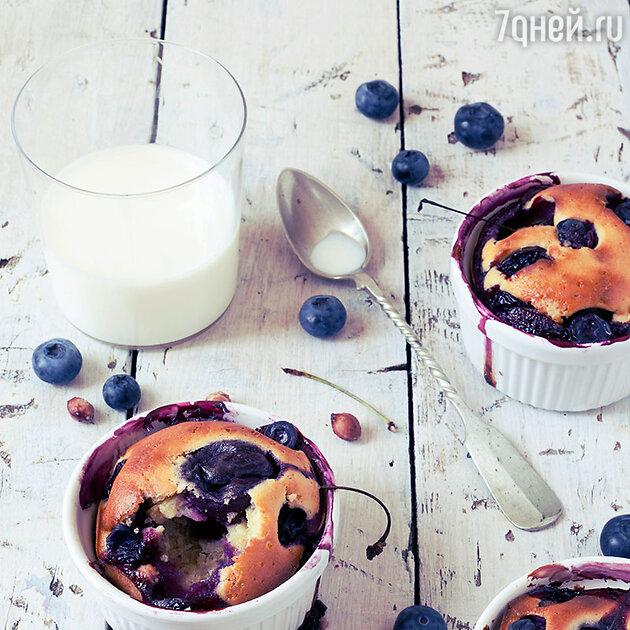Суфле с клубникой, лимоном и киви: готовим вкусный десерт
