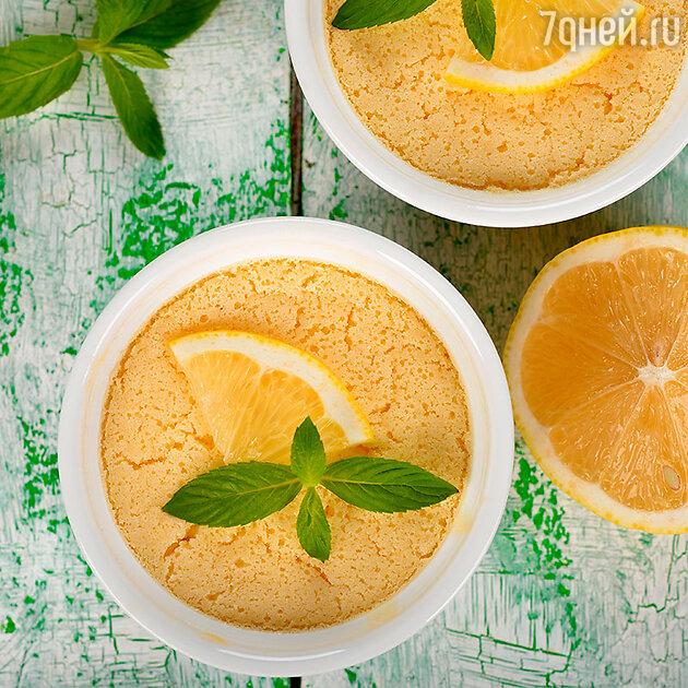 Лимонное суфле
