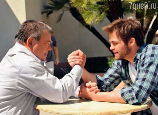 25 апреля 2009 года состоялась эпохальная встреча двух капитанов «Энтерпрайза» — Уильяма Шетнера и Криса Пайна