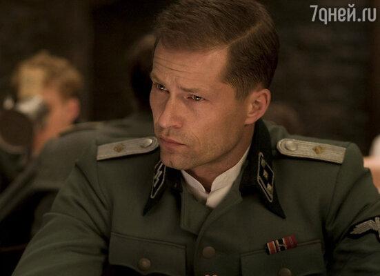 Тиль Швайгер в роли  Хуго Штиглица. «Бесславные ублюдки», 2009 год
