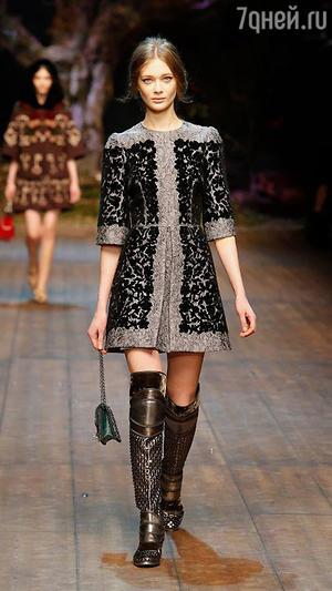 Показ Dolce & Gabbana в Милане