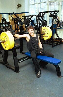 Антон Макарский - поклонник здорового образа жизни