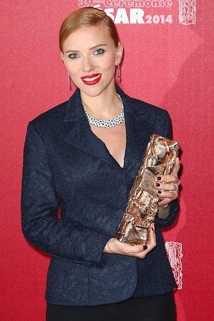 Скарлетт Йоханссон получила почетную премию «Сезар»