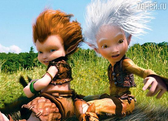 Кадр мультфильма «Артур и месть Урдалака»
