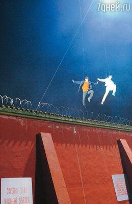 В Китае трюки снимали в шаолиньском монастыре, а в Москве съемочная группа заберется на крышу Пушкинского музея