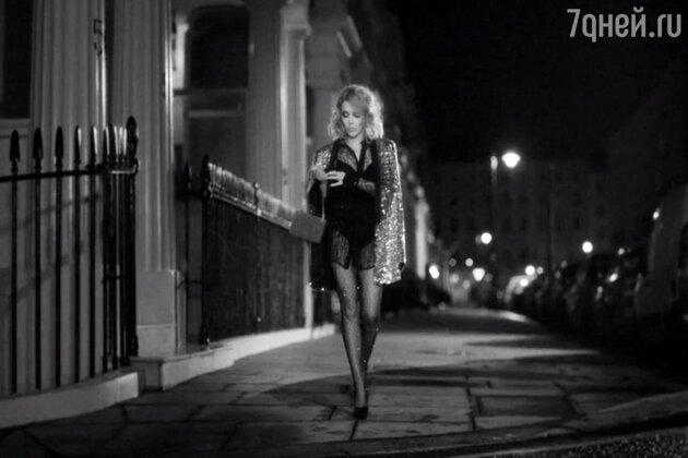 Клип Кайли Миноуг на песню «Kiss Me Once» 2014