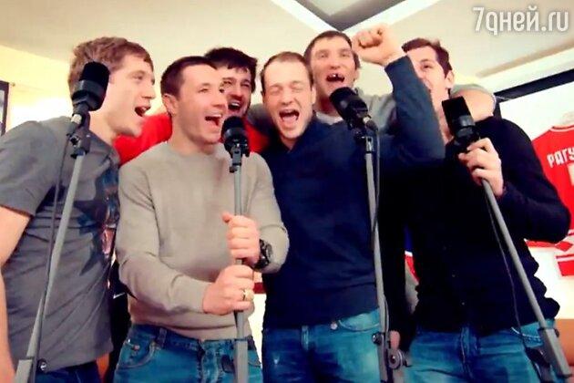 В клипе Ирины Аллегровой снялись звезды отечественного хоккея