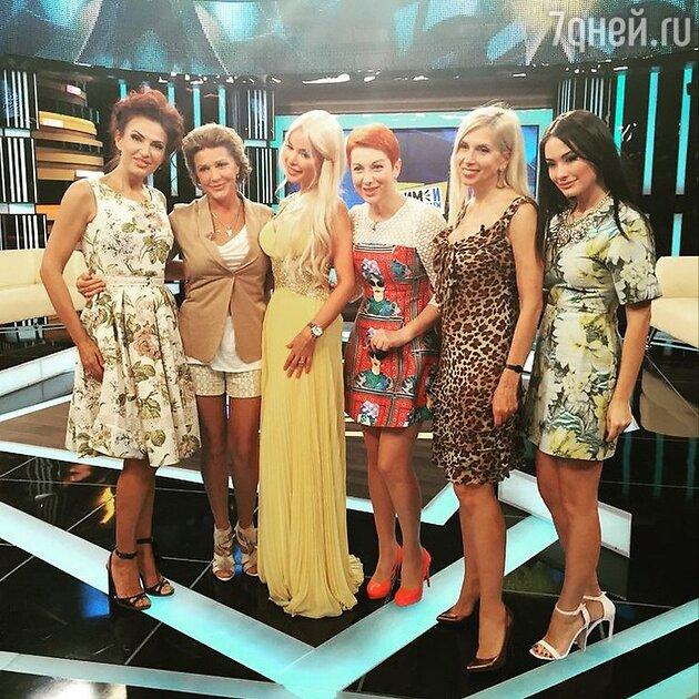 Эвелина Блёданс, Елена Проклова и Алена Свиридова