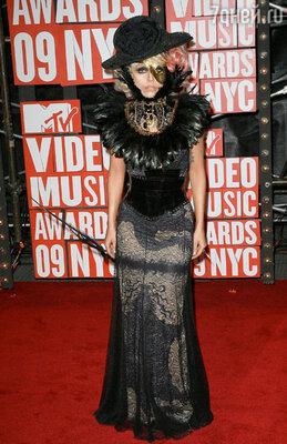 На церемонии «MTV Video Music Awards». Нью-Йорк, 2009 г.