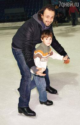 Илья Авербух и его сын Мартин