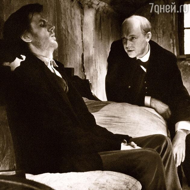 Георгий Тараторкин и Иннокентий Смоктуновский