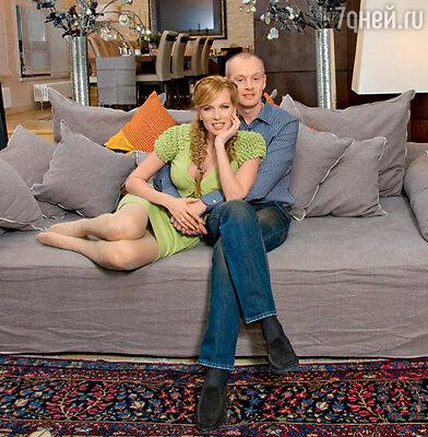 Актриса с мужем Сергеем
