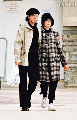 С Жан-Мишелем Жарром. 2002 г.