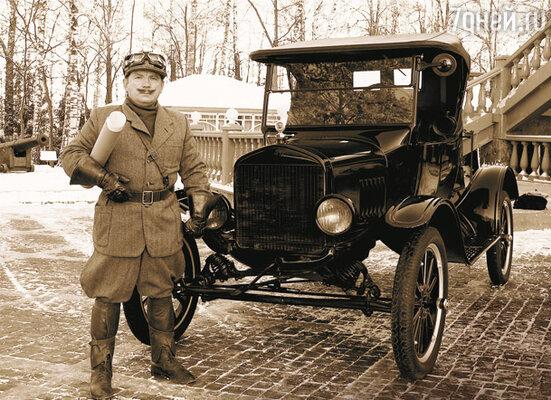 Есть в программе рубрика «Ретро» — мини-фильмы о старых авто