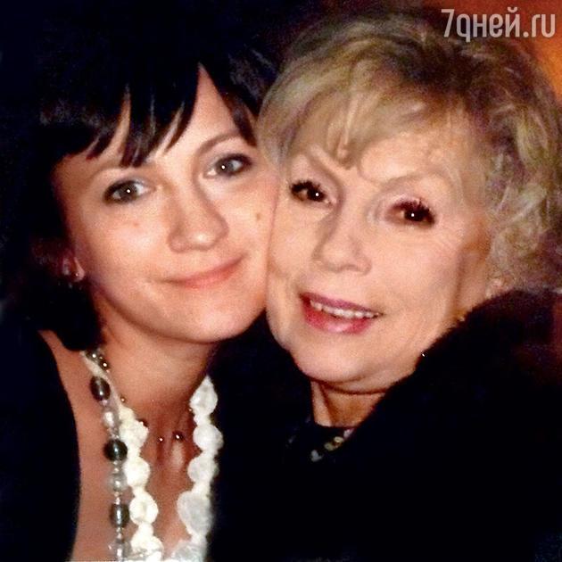 Дарья Дроздовская с Аллой Будницкой