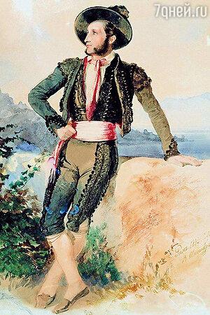 Иван Айвазовский в итальянском костюме