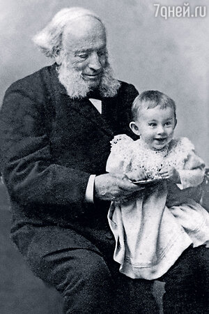 Иван Константинович Айвазовский с внуком
