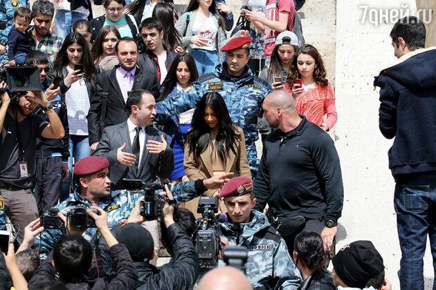 Ким Кардашьян в Ереване