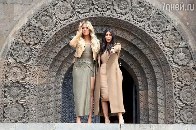 Ким Кардашьян и Хлои Кардашьян