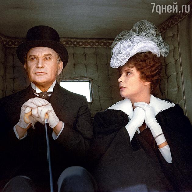 Николай Гриценко и Татьяна Самойлова вфильме «Анна Каренина». 1967 г.