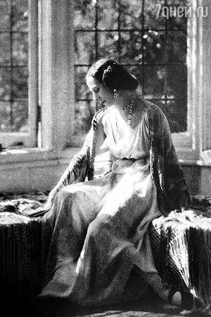 Анна Павлова в Айви-Хаусе. Хэмпстед. 1920 г.