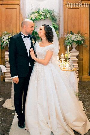 Валерия Ланская с мужем Стасом Ивановым. 2015 г.