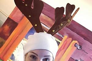 Полина Диброва сыграла роль оленя