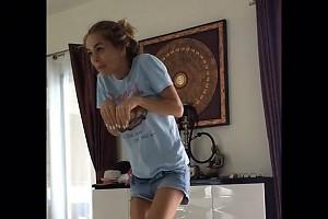 ВИДЕО: Муж Анны Хилькевич снял про нее минифильм