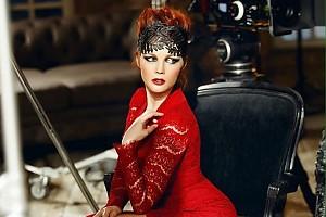 Екатерина Вуличенко встретила Старый Новый год в роскошном наряде