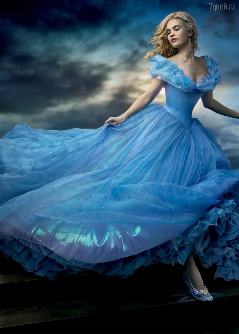 На пошив платья Золушки ушло более 240 метров ткани