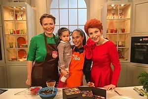 Илана Юрьева научила дочь готовить